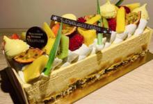 Boulangerie Villeflose. Entremet passion mangue