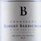 Champagne Barbichon. Blanc de noirs brut