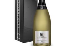 Champagne Clérambault. Magnum Blanc de blancs Millésime