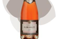 Champagne Gruet. Rosé de saignée