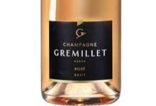 Champagne Gremillet. Brut rosé