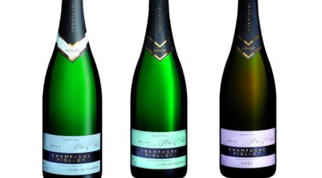 Champagne Piollot. Cuvée de réserve brut