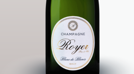 Champagne Royer Père Et Fils. Blanc de blancs