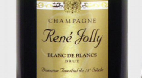 Champagnes René Jolly. Blanc de blancs