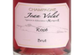 Champagne Jean Velut. Champagne rosé