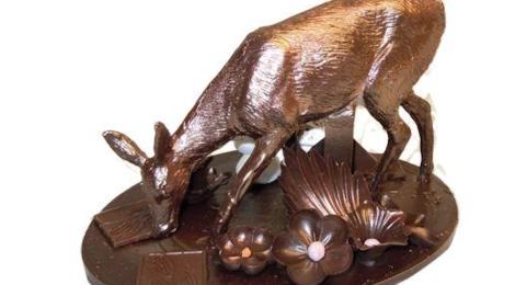 Sylvain Mussy. Maître artisan chocolatier. Biche