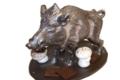 Sylvain Mussy. Maître artisan chocolatier. Sanglier