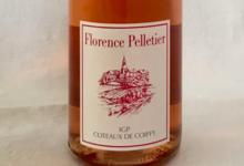 Domaine Florence Pelletier. le rosé de Coiffy