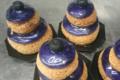 Boulangerie-Pâtisserie Pains et Délices. Religieuse à la myrtille