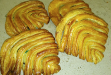 Boulangerie-Pâtisserie Pains et Délices. Chausson italien