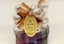 Chocogil. Bouchons chocolat à la liqueur de Fine de la Marne