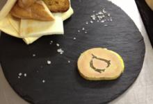 """Ferme Du Bocage Champenois. foie gras entier """"au torchon"""" à la truffe croquante"""