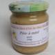 Rucher du Miel d'Or de chez JEK. Pâte à miel noix