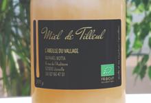 L'abeille du Vallage. Miel de tilleul bio