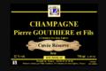 Champagne Pierre Gouthière & fils. Cuvée Réserve
