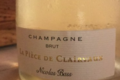 Champagne Nicolas Bass. La pièce de Clairvaux