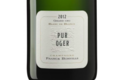 Champagne Franck Bonville. Pur Oger. grand cru blanc de blancs
