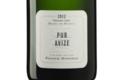 Champagne Franck Bonville. Pur Avize. grand cru blanc de blancs