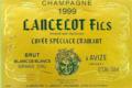 Champagne Lancelot-Goussard. Cuvée spéciale Cramant