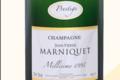 Champagne Jean Pierre Marniquet. Cuvée prestige