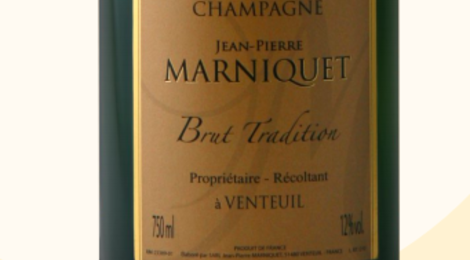 Champagne Jean Pierre Marniquet. Brut tradition