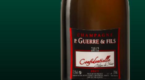 Champagne P.Guerre & Fils. Cuvée brut blanc de noirs millésimé
