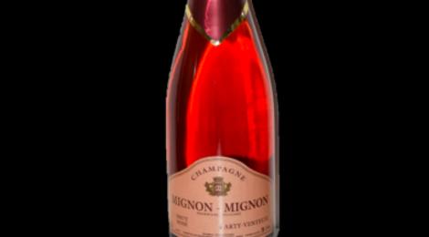 Champagne Mignon Mignon. Rosé