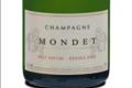 Champagne Mondet. Brut nature