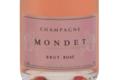 Champagne Mondet. Brut rosé