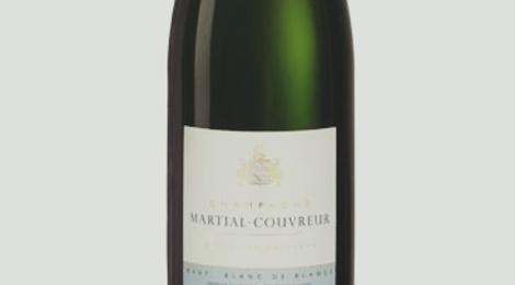 Champagne Martial-Couvreur. L'innocente (blanc de blancs)
