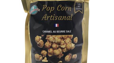 Pop Corn Artisanal Caramel au beurre et sel de Guérande