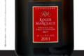Champagne Roger Manceaux. Brut millésimé