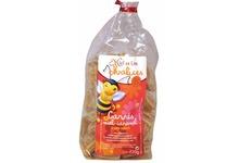 Bonbons carrés miel-caramel