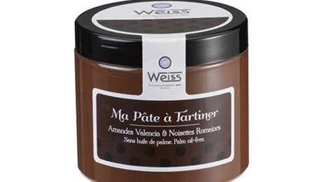 Chocolaterie Weiss. Pâte à Tartiner lisse