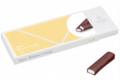 Chocolaterie Weiss. Coffret Bâton Crème Vanille