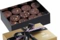 Chocolaterie Weiss. Ballotin de Chocolats Palets Or