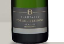 Champagne Forget Brimont. Demi-sec Premier Cru