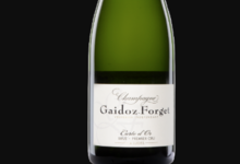 Champagne Gaidoz Forget. Carte d'or brut