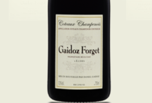 Champagne Gaidoz Forget. Coteaux Champenois rouge