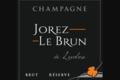 Champagne Jorez Le Brun. Champagne Réserve
