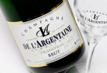 Champagne De L'argentaine. Brut tradition