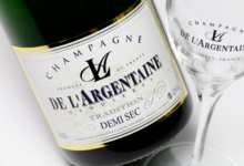 Champagne De L'argentaine. Demi-sec tradition