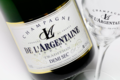 Champagne De L'argentaine. Demi-sec tradition