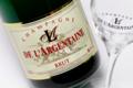 Champagne De L'argentaine. Brut réserve spéciale