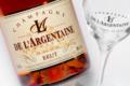 Champagne De L'argentaine. Brut rosé