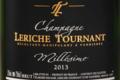 Champagne Leriche Tournant. Millésime