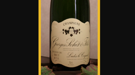 Champagne Georges Sohet. Champagne demi-sec