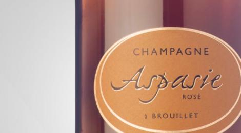 Champagne Aspasie. Brut rosé