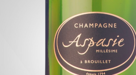 Champagne Aspasie. Brut millésime