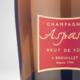 Champagne Aspasie. Brut de fût